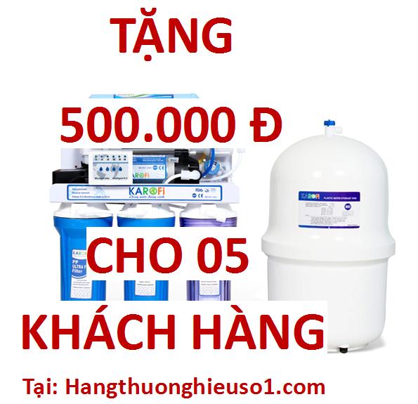 Quà tặng tri ân khách hàng khi mua máy lọc nước Karofi
