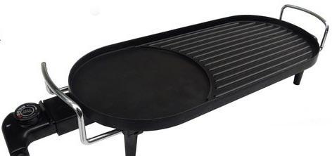 Bếp lẩu và nướng điện Samsung DH805A (Đen)