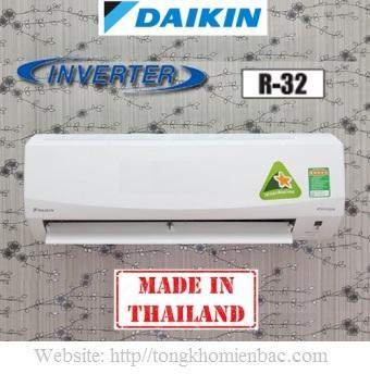 Điều hòa daikin 1 chiều 22000BTU Inverter FTKC60NVMV