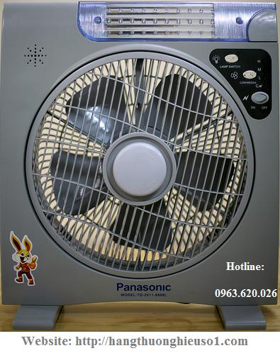 Quạt sạc điện đa năng panasonic 6969