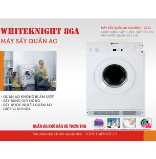 Máy sấy quần áo WhiteKnight 86A