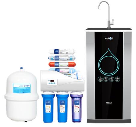 Máy lọc nước karofi thông minh 8 cấp lọc iRO 2.0 tủ IQ (K8IQ-2)