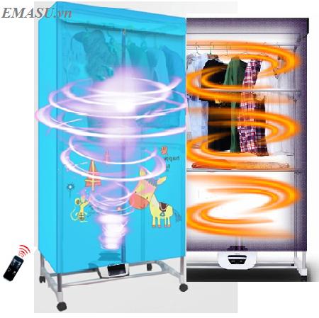 Tủ sấy quần áo Emasu Nhật Bản - ET306