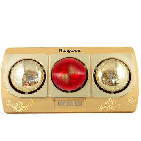 Đèn sưởi nhà tắm Kangaroo 3 bóng (KG252B)